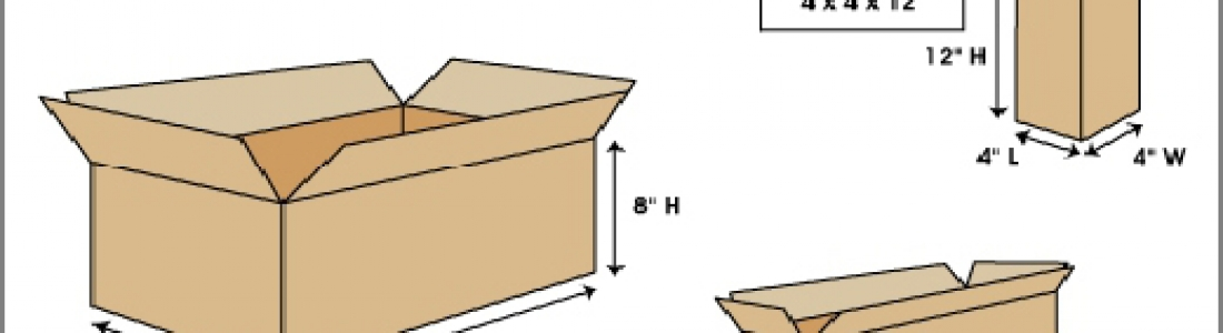 HOW TO CALCULATE THE AREA OF CARTONS